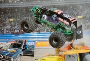 katey n monster truck rally